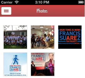 Francis Suarez 4 Miami Mayor? There's an app for that