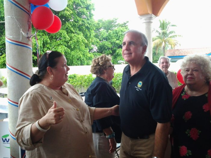 Carlos Gimenez's 'age friendly' initiative for premium voters