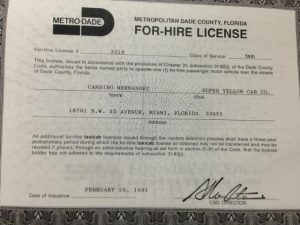 Miami-Dade should give medallion money back to cabbies ...