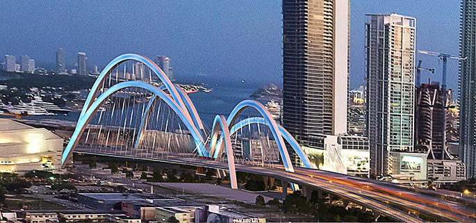 I-395 signature bridge standoff is political palanca at its best