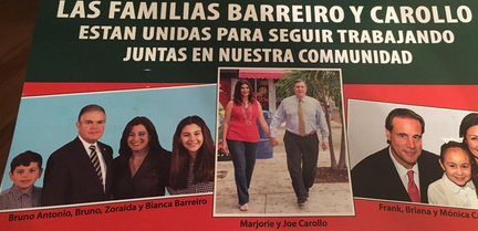 Joe Carollo implies alliance with brother, Bruno Barreiro, in mailer