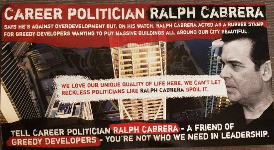 Secretly funded PAC attacks Ralph Cabrera with mystery mailers, lies