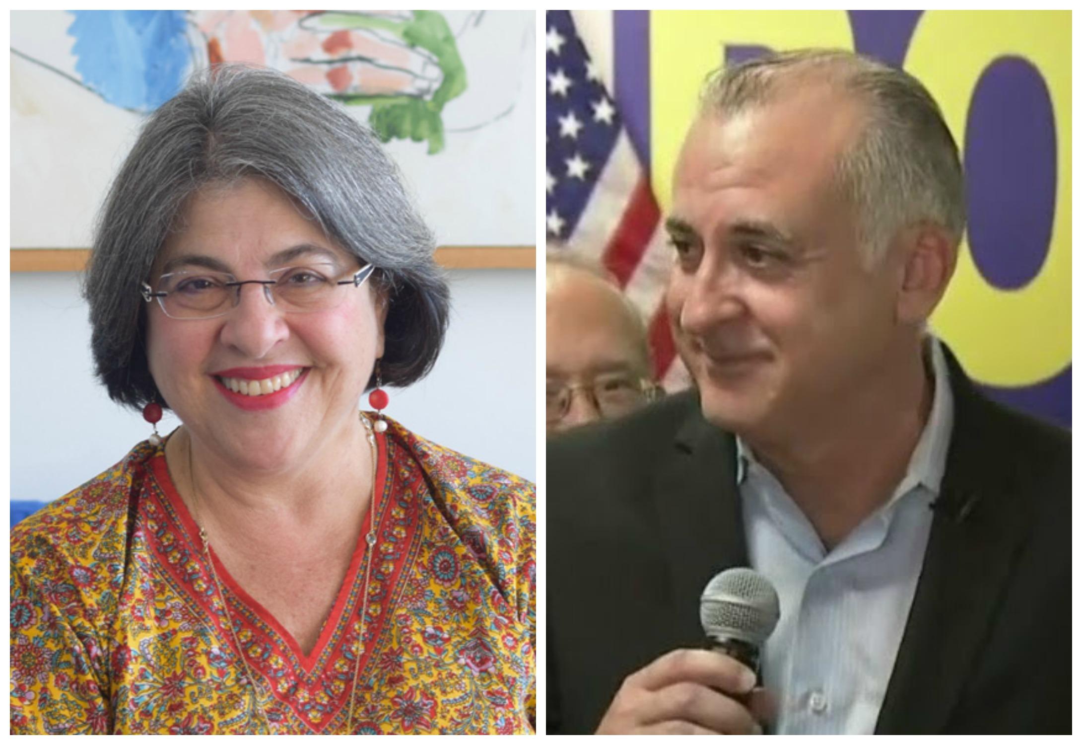 Steve Bovo y Daniella Levine Cava luchan por la alcaldía de Miami-Dade